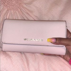 MK Light Pink Wallet!